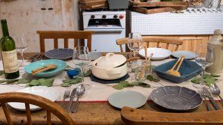 洋食テーブルコーデ